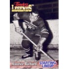Maurice Richard Canadiens 1995 Kenner Starting Lineup Timeless Legends card