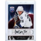 Martin St. Louis certified autograph Tampa Bay Lightning 2009-10 Be A Player card