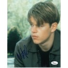 Matt Damon autographed Good Will Hunting 8x10 photo (JSA)