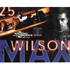 Max Wilson autographed 8x10 photo card