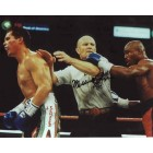 Meldrick Taylor autographed 8x10 boxing photo