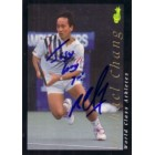 Michael Chang autographed 1992 Classic tennis card