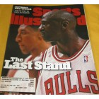 Michael Jordan Chicago Bulls June 1998 Sports Illustrated issue
