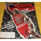 Michael Jordan Chicago Bulls 1999 Sports Illustrated issue