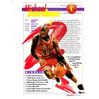 Michael Jordan Chicago Bulls 1994 Sports Heroes album page