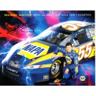 Michael Waltrip autographed NAPA Racing 8x10 NASCAR photo card