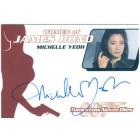 Michelle Yeoh certified autograph Women of James Bond card