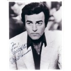 Mike Connors autographed Mannix 8x10 photo (personalized)