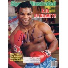 Mike Tyson autographed 1986 Sports Illustrated (TriStar)