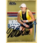 Nadia Petrova autographed 2006 Ace Authentic tennis card