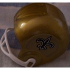 New Orleans Saints vending machine mini helmet