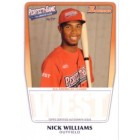 Nick Williams 2011 Perfect Game Topps Bowman Rookie Card (AFLAC)