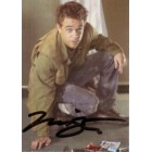 Nick Stahl certified autograph Terminator 3 Rise of the Machines John Connor 2003 Comic Images card