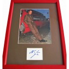 Noah Wyle autograph matted & framed with full page magazine photo