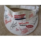 Autographed 1998 or 1999 Pacific Bell Senior Classic golf visor (Don Newcombe)