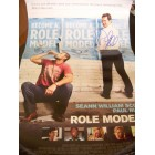 Paul Rudd autographed Role Models mini movie poster