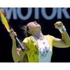 Patty Schnyder autographed 8x10 tennis photo