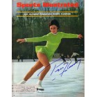 Peggy Fleming autographed 1968 Sports Illustrated