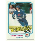 Peter Stastny 1981-82 Topps Rookie Card #39