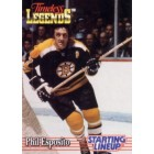 Phil Esposito Bruins 1995 Kenner Starting Lineup Timeless Legends card