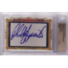 Phil Esposito certified autograph 2011 Leaf Executive Masterpiece Cut Signature card #1/1