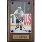 Ray Bourque Boston Bruins photo plaque