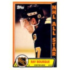 Ray Bourque Boston Bruins 1989-90 Topps All-Star sticker card #7