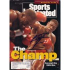 Riddick Bowe autographed 1992 Sports Illustrated