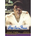 Roger Aaron Brown Star Trek certified autograph card