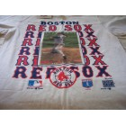 Roger Clemens Boston Red Sox 1993 Upper Deck baseball card T-shirt NEW NEVER WORN