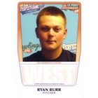 Ryan Burr 2011 Perfect Game Topps Bowman Rookie Card (AFLAC)