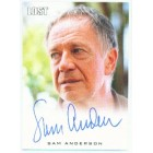 Sam Anderson LOST certified autograph card