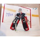 Sarah Tueting autographed 1998 USA Hockey 16x20 poster size photo inscribed Gold 98
