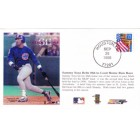 Sammy Sosa 1998 Home Run #66 Chicago Cubs commemorative cachet