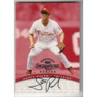 Scott Rolen certified autograph Philadelphia Phillies 1997 Donruss Signature Series card