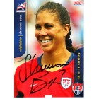 Shannon Boxx autographed 2004 U.S. Soccer card