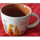 Starbucks 2013 You Are Here Collection Los Angeles 14 ounce collector coffee mug NEW