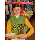 Steve Cauthen autographed 1977 Sports Illustrated