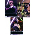 Star Wars Clone Wars 2009 promo card set (3)