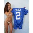 Tim Couch Kentucky Wildcats authentic Nike stitched Pro Cut blue jersey NEW