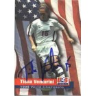 Tisha Venturini autographed 1999 Women's World Cup Champions card