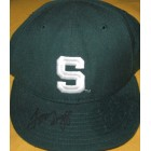 Tom Izzo autographed Michigan State Spartans cap or hat