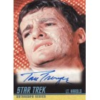 Tom Troupe Star Trek certified autograph card
