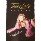 Traci Lords autographed On Paper sexy poster book