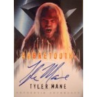 Tyler Mane certified autograph X-Men Sabretooth Topps card