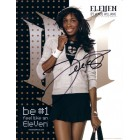 Venus Williams autographed Eleven promotional 8 1/2 x 11 photo