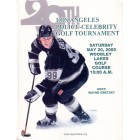 Wayne Gretzky Los Angeles Kings 2000 LAPD Celebrity Golf program