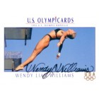 Wendy Lian Williams autographed 1992 U.S. Olympic Hopefuls promo card