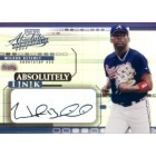 Wilson Betemit certified autograph 2002 Playoff Absolute Ink card