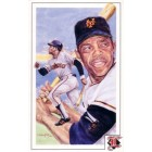 Willie Mays San Francisco Giants 1992 Legends Magazine postcard